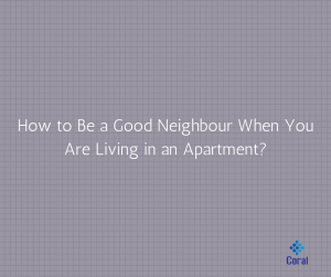 how to be a good neigbor
